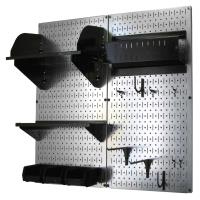 Wall Control Pegboard Hobby Craft Pegboard Organizer Storage Kit with