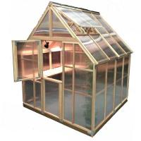 Sunshine Gardenhouse Mt. Rainier Greenhouse Kit 8' X 8'