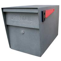 Mail Boss Locking Security Mailbox Granite