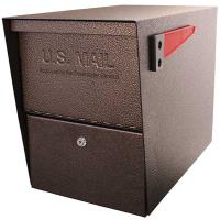 Package Master Locking Security Mailbox Bronze Copper