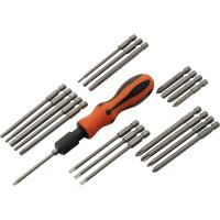 Dynamic Tools 21pc Screwdriver Set With Removable Bits with Comfort Gr