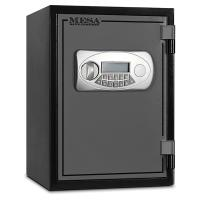 Mesa Fire Safe with Electronic Lock 0.6 cu. ft. Black and Gray Model M
