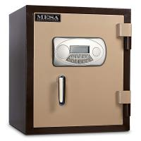 Mesa Fire Safe with Electronic Lock and Interior Light 1.3 cu. ft. Bla