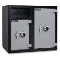 Mesa Depository Safe with Two Combination Locks 6.7 cu. ft. Black and