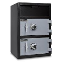 Mesa Depository Safe with Two Combination Locks 3.6 cu. ft. Black and