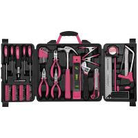 Apollo Tools Household Tool Kit Pink 71 pieces Model DT0204P