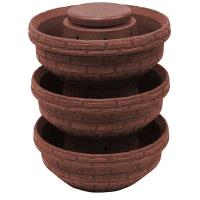 Good Ideas English Composting Garden 3 pack Red