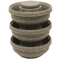 Good Ideas English Composting Garden 3 pack Sandstone