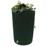Good Ideas Impressions Bark Rain Saver 50 Gallon Green