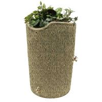 Good Ideas Impressions Bark Rain Saver 50 Gallon Sandstone