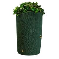 Good Ideas Impressions Bark Rain Saver 90 Gallon Green