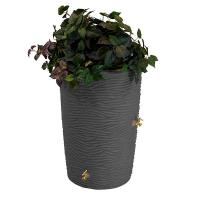 Good Ideas Impressions Palm Rain Saver 50 Gallon Dark Granite