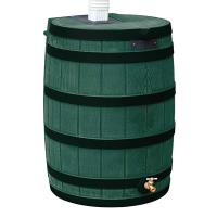 Good Ideas Rain Wizard 40 with Darkened Ribs 40 Gallon Green