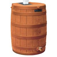 Good Ideas Rain Wizard 50 50 Gallon Terra Cotta