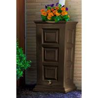 Good Ideas Savannah Rain Saver 55 Gallon Oak