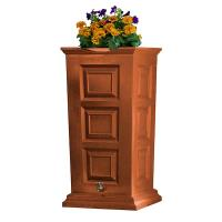 Good Ideas Savannah Rain Saver 55 Gallon Terra Cotta