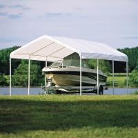 ShelterLogic 12 x 20 ft. White Canopy Replacement Cover Fits 2