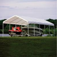 ShelterLogic Super Max 12 ft. x 30 ft. White Premium Canopy Replacemen