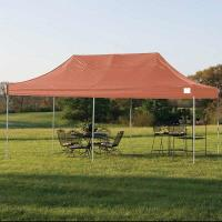 ShelterLogic 10ft. x 20ft. Pro Pop-up Canopy Straight Leg Red Cover