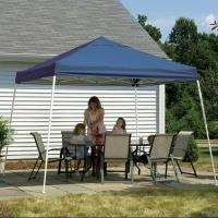ShelterLogic 12 ft. x 12 ft. Sport Pop-up Canopy Slant LegChecker Flag