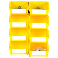 Triton Yellow Hanging Bin and BinClips Kits 30 Cnt