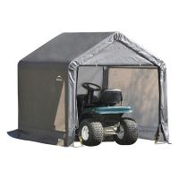 ShelterLogic Shed-in-a-Box 6' x 6' x 6' Peak Style Gray