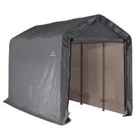 ShelterLogic Shed-in-a-Box 6' x 12' x 8' Peak Style Gray