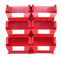 Triton Red 8 PC Wall Storage Unit - Extra Large