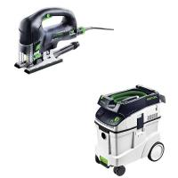 Festool Carvex PSB 420 EBQ Plus D-Handle Jigsaw    CT 48 Dust Extracto