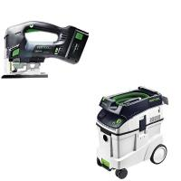 Festool Carvex PSBC 420 EB Jigsaw with T-LOC   CT 48 Dust Extractor Pa