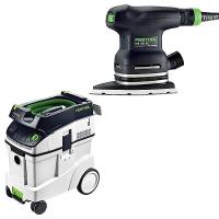 Festool DTS 400 EQ Sander with T-LOC   CT 48 Dust Extractor Package