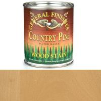 General Finishes Wood Stain Water Based Country Pine Stain Pint