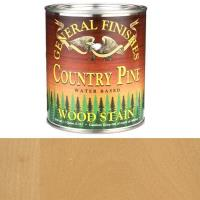 General Finishes Wood Stain Water Based Country Pine Stain Quart