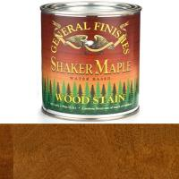 General Finishes Wood Stain Water Based Shaker Maple Stain Pint