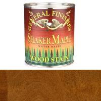 General Finishes Wood Stain Water Based Shaker Maple Stain Quart