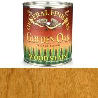General Finishes Wood Stain Water Based Golden Oak Stain Quart
