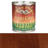 General Finishes Wood Stain Water Based Antique Cherry Stain Quart
