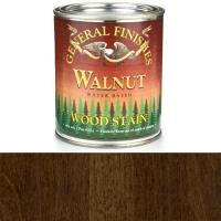 General Finishes Wood Stain Water Based Walnut Stain Quart