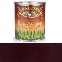 General Finishes Wood Stain Water Based Rosewood Stain Quart