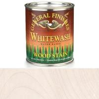 General Finishes Wood Stain Water Based Whitewash Stain Pint