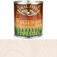 General Finishes Wood Stain Water Based Whitewash Stain Quart