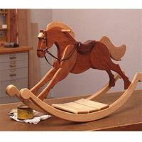 Woodworking Project Paper Plan to Build Playroom Palomino Rocking Hors