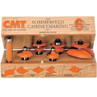 CMT 800.515.11 Cabinetmaking Router Bit Set Cove Profile - 1/2