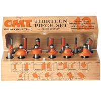 CMT 13 Piece Router Bit Set Model 800.505.11