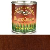 General Finishes Wood Stain Water Based Black Cherry Stain Pint
