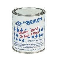 Behlen Water-Based Grain Filler Brown Quart