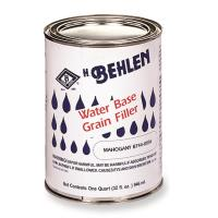 Behlen Water-Based Grain Filler Mahogany Quart