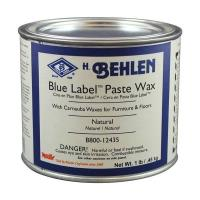 Blue Label Paste Wax Natural 1Lb