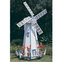 Woodworking Project Paper Plan to Build Large Windmill Plan No. 739