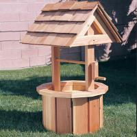 Woodworking Project Paper Plan to Build Small Wishing Well